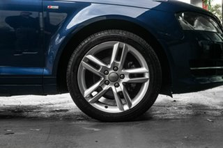 2011 Audi A3 8P MY12 Ambition S Tronic Blue 6 Speed Sports Automatic Dual Clutch Convertible