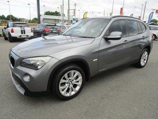 2011 BMW X1 E84 MY11 sDrive20d Steptronic Grey 6 Speed Sports Automatic Wagon.