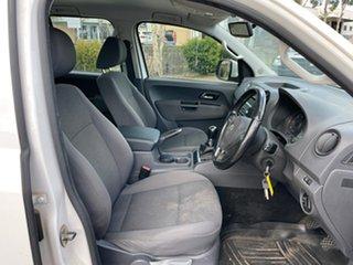 2013 Volkswagen Amarok 2H MY13 TDI400 Trendline (4x4) White 6 Speed Manual Dual Cab Utility