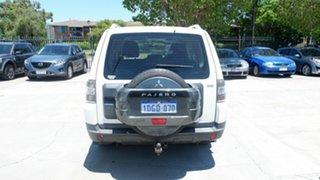 2007 Mitsubishi Pajero NS GLX White 5 Speed Manual Wagon