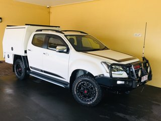 2019 Isuzu D-MAX TF MY19 X-Runner Ltd Ed White (4x4) White 6 Speed Automatic Crew Cab Utility.