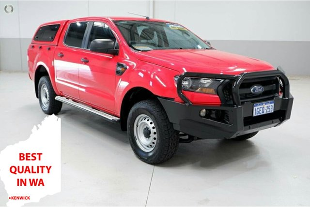 Used Ford Ranger PX MkII XL Hi-Rider Kenwick, 2017 Ford Ranger PX MkII XL Hi-Rider Red 6 Speed Sports Automatic Utility
