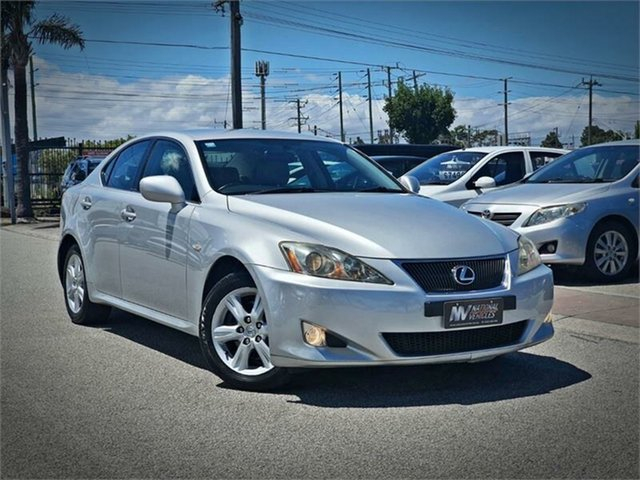 Used Lexus IS GSE20R IS250 Prestige Cheltenham, 2008 Lexus IS GSE20R IS250 Prestige Silver Sports Automatic Sedan