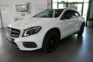 2018 Mercedes-Benz GLA-Class X156 809MY GLA250 DCT 4MATIC White 7 Speed Sports Automatic Dual Clutch