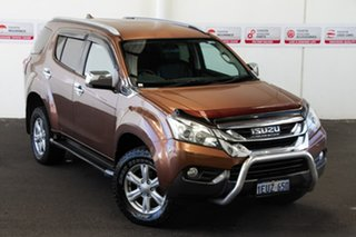 2015 Isuzu MU-X UC LS-U (4x4) Bronze 5 Speed Automatic Wagon.