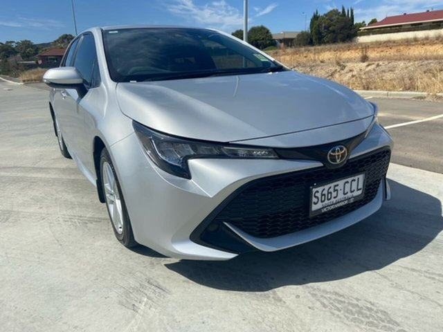 Used Toyota Corolla Mzea12R Ascent Sport Victor Harbor, 2019 Toyota Corolla Mzea12R Ascent Sport Silver 10 Speed Constant Variable Hatchback