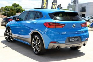 2018 BMW X2 F39 sDrive20i Coupe DCT Steptronic M Sport Misano Blue 7 Speed.