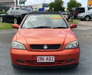2004 Holden Astra TS Orange 4 Speed Automatic Convertible