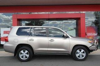 2012 Toyota Landcruiser VDJ200R MY12 VX Gold 6 Speed Sports Automatic Wagon.