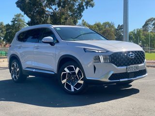 2020 Hyundai Santa Fe Tm.v3 MY21 Elite Glacier White 8 Speed Sports Automatic Wagon.