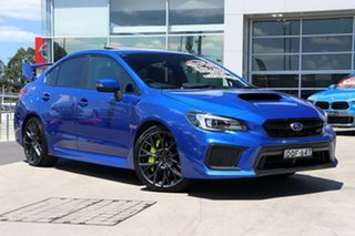 2017 Subaru WRX V1 MY18 STI AWD Premium WR Blue 6 Speed Manual Sedan.