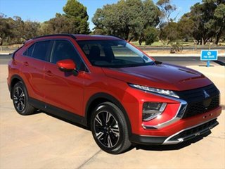 2020 Mitsubishi Eclipse Cross YB MY21 LS 2WD Red Diamond 8 Speed Constant Variable Wagon.
