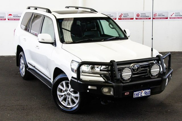Pre-Owned Toyota Landcruiser VDJ200R MY16 Sahara (4x4) Rockingham, 2016 Toyota Landcruiser VDJ200R MY16 Sahara (4x4) Crystal Pearl 6 Speed Automatic Wagon