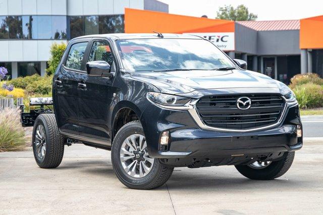 New Mazda BT-50 Mornington, 2020 Mazda BT-50 BT-50 B 6AUTO 3.0L DUAL CAB CHASSIS XT 4X4 Gun Blue CRCCC