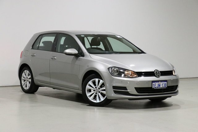 Used Volkswagen Golf AU 90 TSI Comfortline Bentley, 2013 Volkswagen Golf AU 90 TSI Comfortline Silver 6 Speed Manual Hatchback