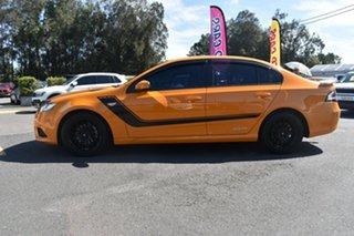2014 Ford Falcon FG MkII XR6 EcoLPi Yellow 6 Speed Sports Automatic Sedan