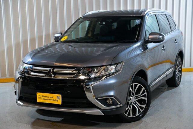 Used Mitsubishi Outlander ZK MY17 LS 4WD Hendra, 2017 Mitsubishi Outlander ZK MY17 LS 4WD Grey 6 Speed Constant Variable Wagon