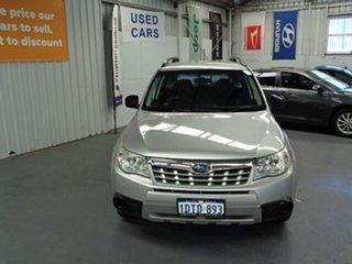 2011 Subaru Forester S3 MY11 X AWD Silver 4 Speed Sports Automatic Wagon.