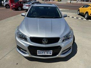 2014 Holden Commodore VF MY15 SS V Redline Silver 6 Speed Sports Automatic Sedan.