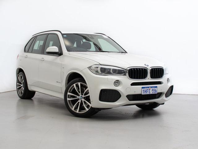 Used BMW X5 F15 xDrive30d, 2013 BMW X5 F15 xDrive30d White 8 Speed Automatic Wagon