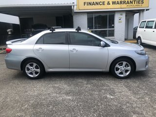 2010 Toyota Corolla ZRE152R Conquest Silver 4 Speed Automatic Sedan