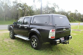 2010 Ford Ranger PK XLT Crew Cab Black 5 Speed Manual Utility