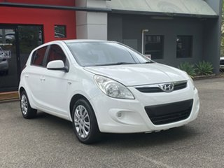 2011 Hyundai i20 PB MY11 Active White 5 Speed Manual Hatchback