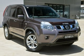 2011 Nissan X-Trail T31 Series IV ST-L Brown 1 Speed Constant Variable Wagon.