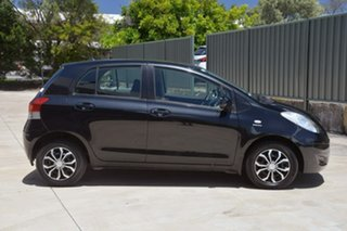 2010 Toyota Yaris NCP90R MY10 YR Black 4 Speed Automatic Hatchback.