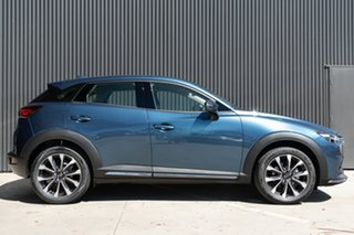 2020 Mazda CX-3 DK4W7A Akari SKYACTIV-Drive i-ACTIV AWD Eternal Blue 6 Speed Sports Automatic Wagon.