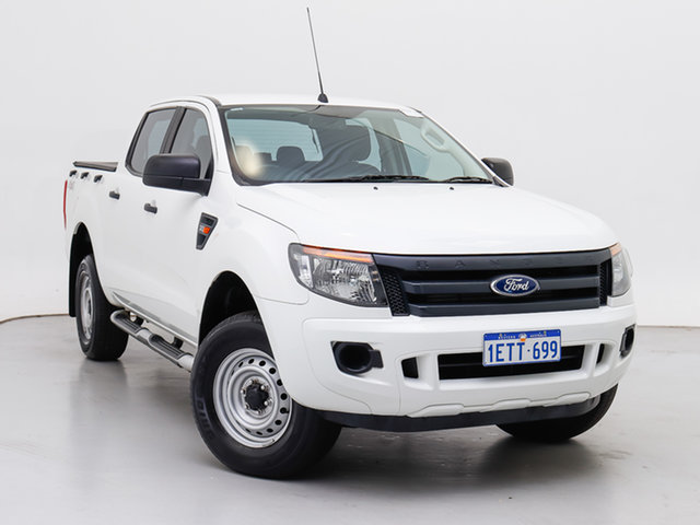 Used Ford Ranger PX XL 3.2 (4x4), 2015 Ford Ranger PX XL 3.2 (4x4) White 6 Speed Automatic Double Cab Pick Up