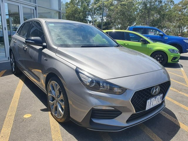 Used Hyundai i30 PD.3 MY19 N Line D-CT Epsom, 2019 Hyundai i30 PD.3 MY19 N Line D-CT Grey 7 Speed Sports Automatic Dual Clutch Hatchback