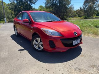 2013 Mazda 3 BL Series 2 Neo Red Sports Automatic Sedan.