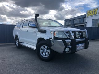 2008 Toyota Hilux KUN26R MY08 SR5 White 5 Speed Manual Utility.