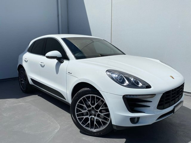 Used Porsche Macan 95B MY15 S PDK AWD Diesel Liverpool, 2014 Porsche Macan 95B MY15 S PDK AWD Diesel White 7 Speed Sports Automatic Dual Clutch Wagon
