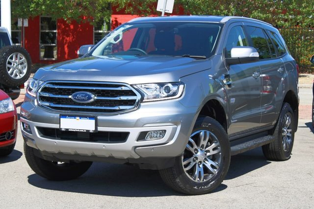 Used Ford Everest UA II 2019.75MY Trend Midland, 2019 Ford Everest UA II 2019.75MY Trend Silver 10 Speed Sports Automatic SUV