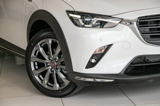 2020 Mazda CX-3 DK4W7A Akari SKYACTIV-Drive i-ACTIV AWD LE Snowflake White Pearl 6 Speed.