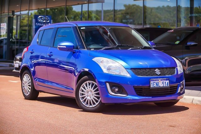 Used Suzuki Swift FZ MY14 GL Navigator Gosnells, 2014 Suzuki Swift FZ MY14 GL Navigator Blue 4 Speed Automatic Hatchback