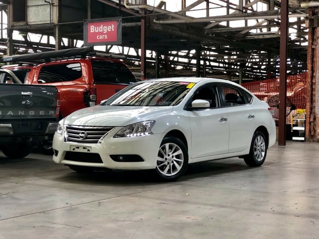 Used Nissan Pulsar B17 ST-L Mile End South, 2013 Nissan Pulsar B17 ST-L White 1 Speed Constant Variable Sedan