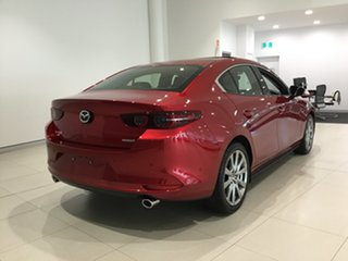 2020 Mazda 3 BP2SLA G25 SKYACTIV-Drive Astina Soul Red 6 Speed Sports Automatic Sedan.