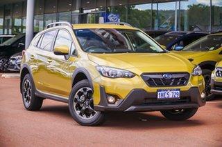 2020 Subaru XV G5X 2.0I-L Yellow Constant Variable SUV.