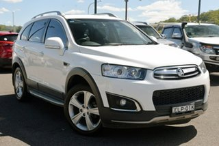 2014 Holden Captiva CG MY15 7 AWD LTZ White 6 Speed Sports Automatic Wagon.