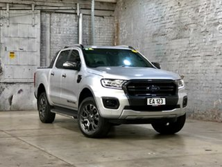 2018 Ford Ranger PX MkIII 2019.00MY Wildtrak Silver 10 Speed Sports Automatic Utility.