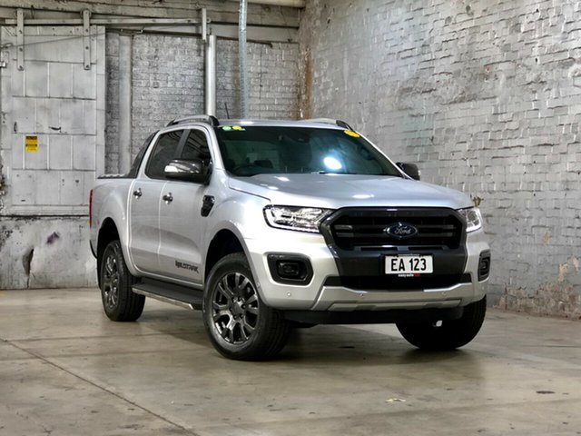 Used Ford Ranger PX MkIII 2019.00MY Wildtrak Mile End South, 2018 Ford Ranger PX MkIII 2019.00MY Wildtrak Silver 10 Speed Sports Automatic Utility