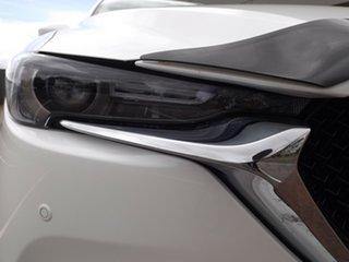 2018 Mazda CX-5 KF4W2A Akera SKYACTIV-Drive i-ACTIV AWD Snowflake White 6 Speed Sports Automatic