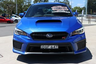 2017 Subaru WRX V1 MY18 STI AWD Premium WR Blue 6 Speed Manual Sedan
