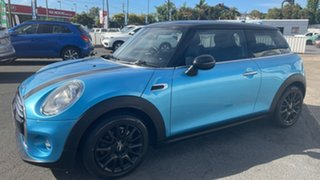 2015 Mini Hatch F56 Cooper Electric Blue 6 Speed Automatic Hatchback