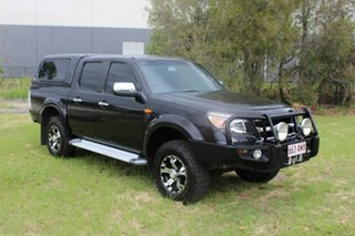 2010 Ford Ranger PK XLT Crew Cab Black 5 Speed Manual Utility.