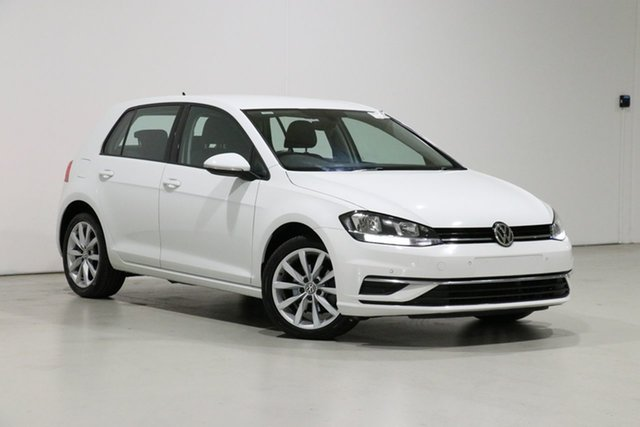 Used Volkswagen Golf AU MY18 110 TSI Comfortline Bentley, 2017 Volkswagen Golf AU MY18 110 TSI Comfortline White 7 Speed Auto Direct Shift Hatchback