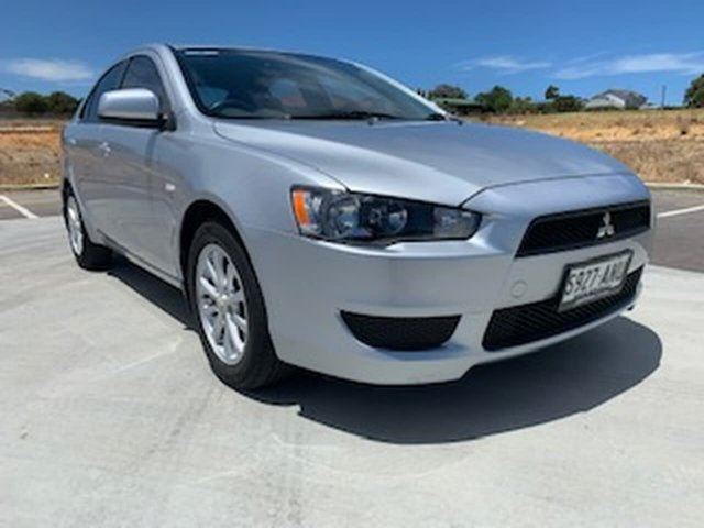 Used Mitsubishi Lancer CJ MY11 SX Sportback Victor Harbor, 2011 Mitsubishi Lancer CJ MY11 SX Sportback Silver 5 Speed Manual Hatchback